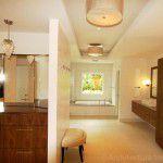 Preston Hollow Luxury Home Remodeling Vanity & Master Bath