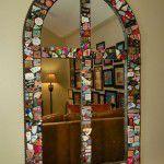 Lakewood Dilbeck Home Renovation Mosaic Mirror