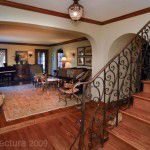 Lakewood Dilbeck Home Renovation Decorative Iron Stair Rail