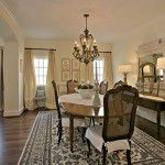 Lower Greenville Traditional Home Dining Room