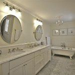 Lower Greenville Traditional Home Master Bath