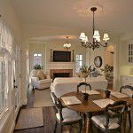 Lower Greenville Traditional Home Living/Dining Room