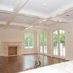 Preston Hollow Traditional Home Renovation Living Room