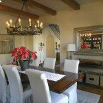 Dallas Custom Tuscan Villa Dining