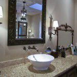 Dallas Custom Tuscan Villa Home Bath