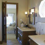 Dallas Custom Tuscan Villa Home Master Bath