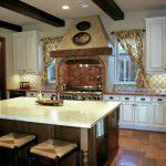 Dallas Custom Tuscan Villa Kitchen