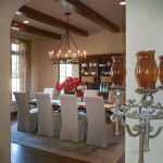 Dallas Custom Tuscan Villa Dining Room