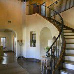 Dallas Custom Tuscan Villa Foyer