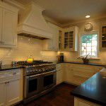 Dallas Tudor New Home Construction Custom Kitchen