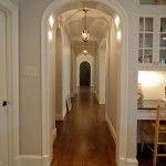 Dallas Tudor New Home Construction Hallway