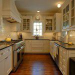 Dallas Tudor New Custom Home Kitchen