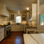 Dallas Tudor Custom Home Kitchen
