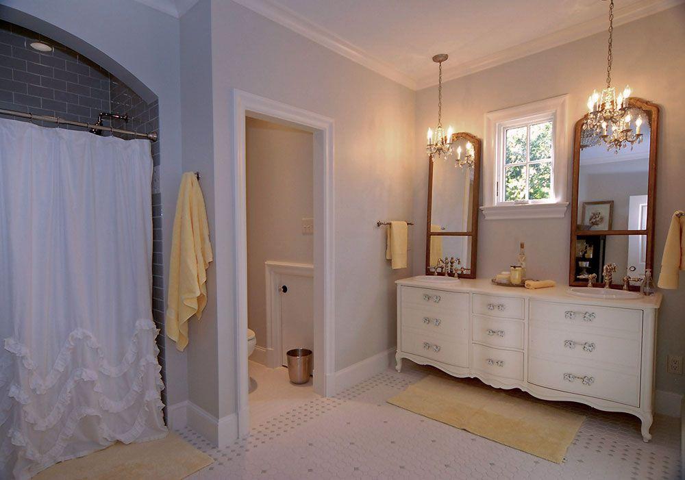 Dallas Tudor Custom Home Interior