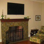 Forest Hills Luxury Home Fireplace