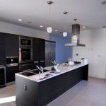 Kessler Woods Modern Home Kitchen