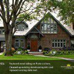 Front of Lakewood Tudor Remodel