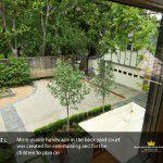Lakewood Mansion Remodel Backyard Court