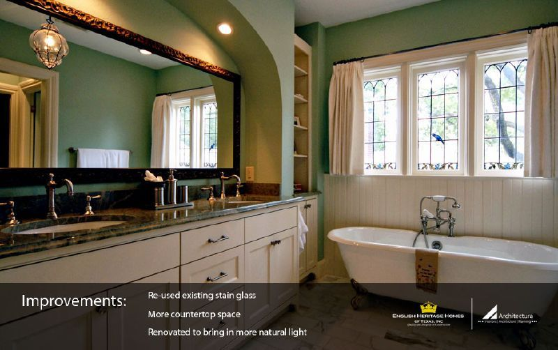 Tudor Style Home Addition And Remodel Lakewood - Bathroom remodeling lakewood