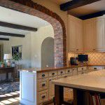 Dallas Custom Tuscan Villa Brick Arch
