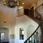 Dallas Custom Tuscan Villa Stairs