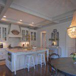 University Park Custom Traditional Home Kitchen