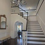 University Park Custom Traditional Home Stairs