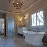 University Park Custom Traditional Home Bathroom