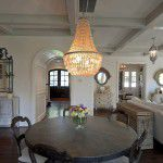 University Park Custom Traditional Home Dining Room