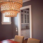 University Park Custom-Built Modern Home Chandelier