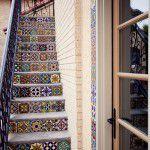Lakewood Hutsell Home Addition Mosiac Tiles