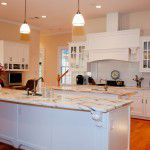 Forest Hills New Custom Home Marble Countertops