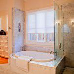 Forest Hills New Custom Home Master Bath