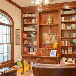 Forest Hills New Custom Home Office