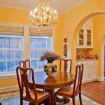 Lakewood Traditional Home Restoration Breakfast Room