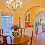 Lakewood Traditional Home Breakfast Room