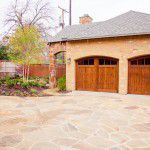 Lakewood Traditional Home Restoration Driveway & Garage