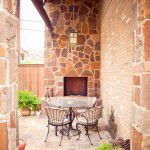 Lakewood Traditional Home Restoration Stone Fireplace