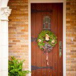 Lakewood Traditional Home Restoration Front Door Arch