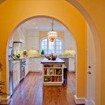 Lakewood Traditional Home Restoration Kitchen Entry