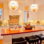Lakewood Traditional Home Restoration Kitchen Bar Lighting