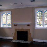 Lower Greenville Traditional Home Remodel Fireplace