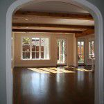 Lower Greenville Traditional Home Remodel Ceiling Beams