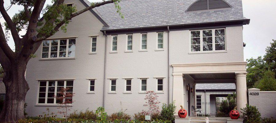 University Park Custom-Built Modern Home Exterior